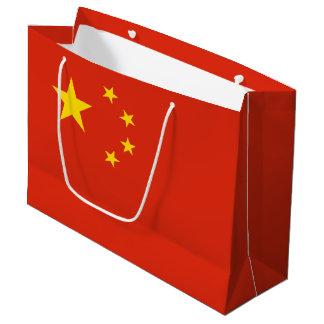 China Flag Large Gift Bag