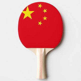 china flag ping pong paddle