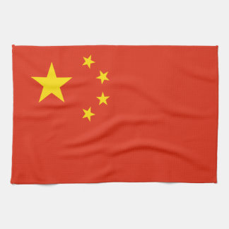 China Flag Tea Towel