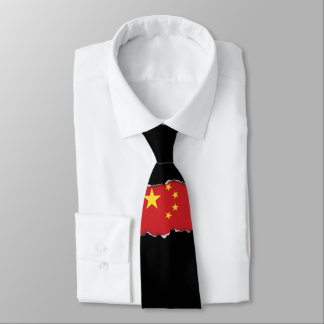 China Flag Tie