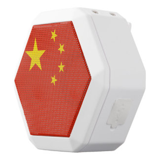 China Flag White Bluetooth Speaker