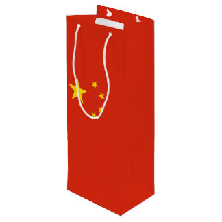 China Flag Wine Gift Bag