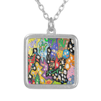 China Fortune Silver Plated Necklace
