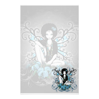 """China"" Gothic Retro Flower Fairy Art Stationery"