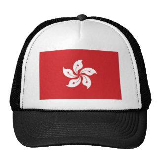 China Hong Kong Flag Cap