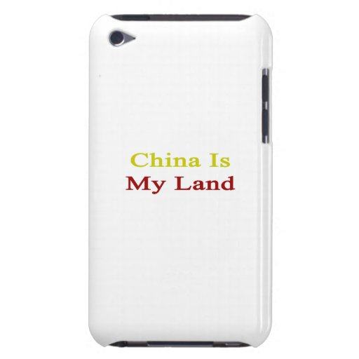 China Is My Land Barely There iPod Case