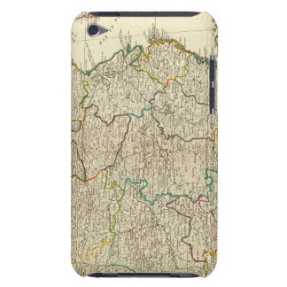 China, Korea atlas map iPod Touch Cases