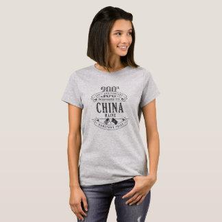 China, Maine 200th Anniversary 1-Color T-Shirt
