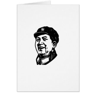 China Mao symbol Card