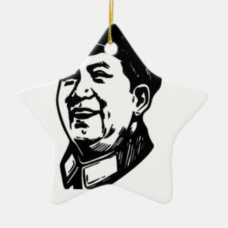 China Mao symbol Ceramic Ornament
