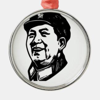 China Mao symbol Metal Ornament