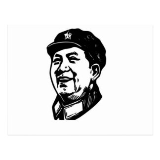 China Mao symbol Postcard
