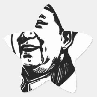 China Mao symbol Star Sticker
