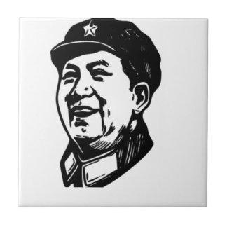 China Mao symbol Tile