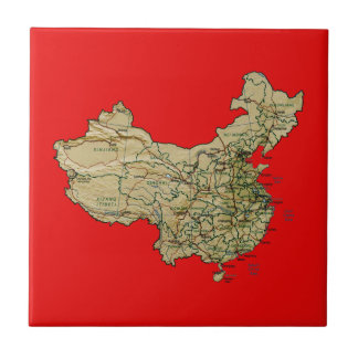China Map Tile