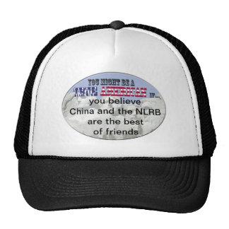 china nlrb mesh hats