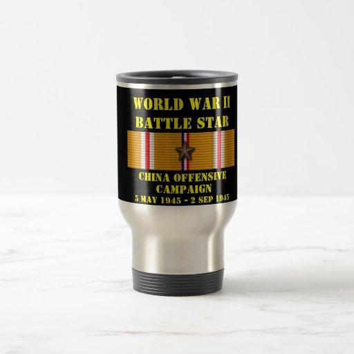 China Offensive Campaign Coffee Mug