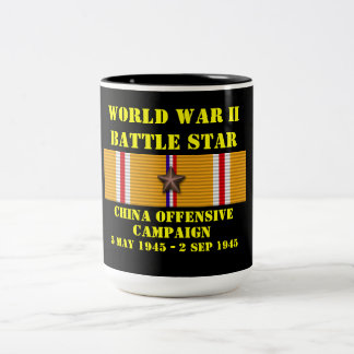 China Offensive Campaign Two-Tone Mug