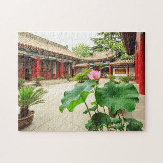 China Pagoda Interior Jigsaw Puzzle