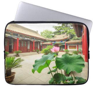 China Pagoda Interior Laptop Sleeve