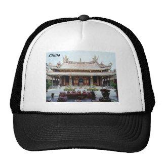 China  pagoda [kan.k] cap
