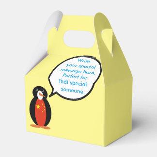 China People's Republic Penguin Favour Box