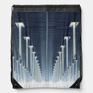 China, Shanghai | Pudong International Airport Drawstring Bag