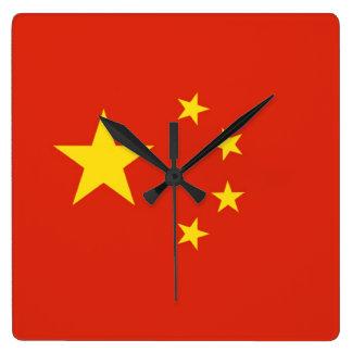 CHINA SQUARE WALL CLOCK