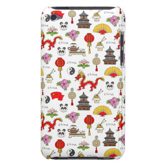 China Symbols Pattern Barely There iPod Cover