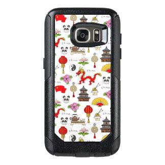 China Symbols Pattern OtterBox Samsung Galaxy S7 Case