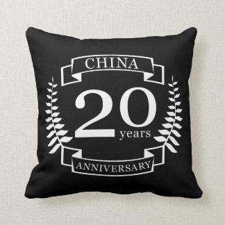 China Traditional wedding anniversary 20 years Cushion