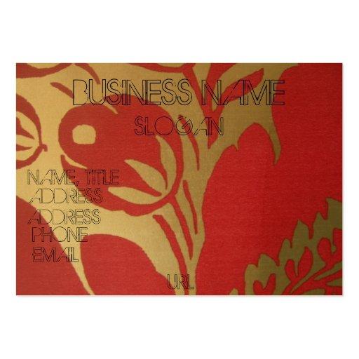 china vase customised business card template zazzle. Black Bedroom Furniture Sets. Home Design Ideas