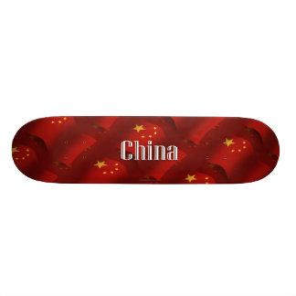 China Waving Flag Skate Decks