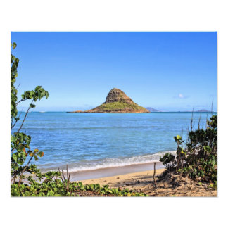 Chinamans Hat -Oahu Photo Print
