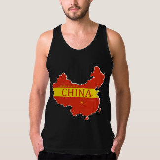 China's P-Republic Flag Colors Designer T-Shirt