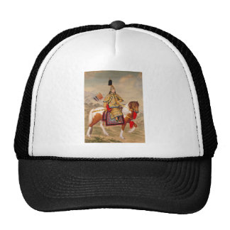 China's Qianlong Emperor 乾隆帝 in Ceremonial Armour Cap