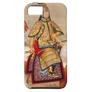 China's Qianlong Emperor 乾隆帝 in Ceremonial Armour Case For The iPhone 5