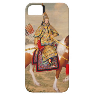 China's Qianlong Emperor 乾隆帝 in Ceremonial Armour iPhone 5 Cover