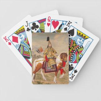 China's Qianlong Emperor 乾隆帝 in Ceremonial Armour Poker Deck
