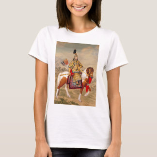 China's Qianlong Emperor 乾隆帝 in Ceremonial Armour T-Shirt