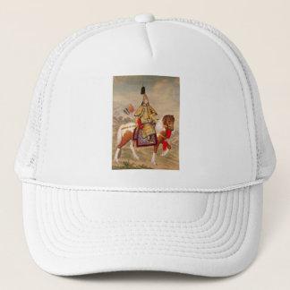 China's Qianlong Emperor 乾隆帝 in Ceremonial Armour Trucker Hat