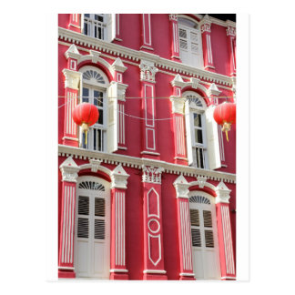 Chinatown colonial architecture Singapore Postcard