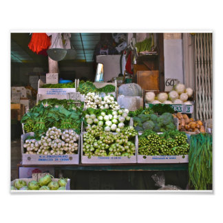 Chinatown NYC Vegetables Art Photo