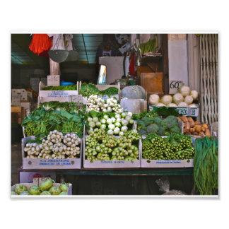 Chinatown, NYC Vegetables Art Photo