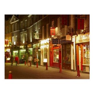 Chinatown, Soho, London, England, United Kingdom Postcard