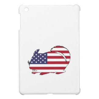"""Chinchilla """"American Flag"""" iPad Mini Cover"""