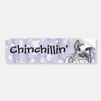 Chinchilla Bumper Sticker