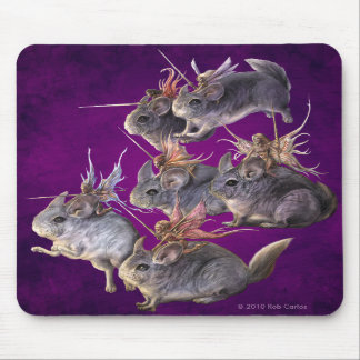 Chinchilla Cavalry Mousepad