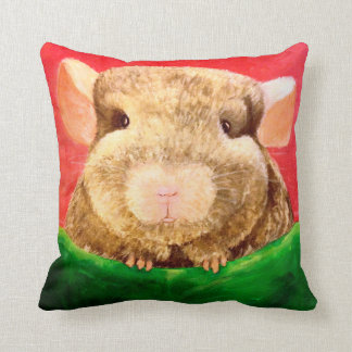 Chinchilla Chinchilling in a Hammock Throw Pillow