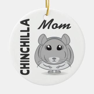 Chinchilla Mom Ornament